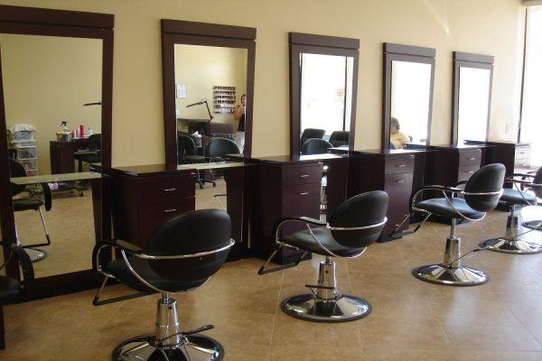Мебель для салонов красоты на заказ в Бишкеке