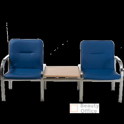 Палермо CH WD cекция 2-х местная со столиком экокожа
